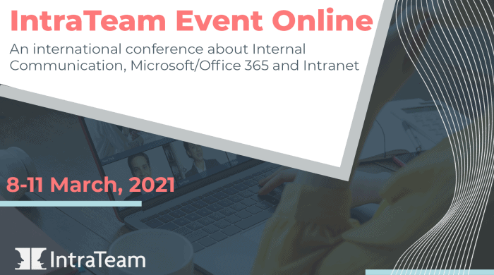 IntraTeam Event Online main banner