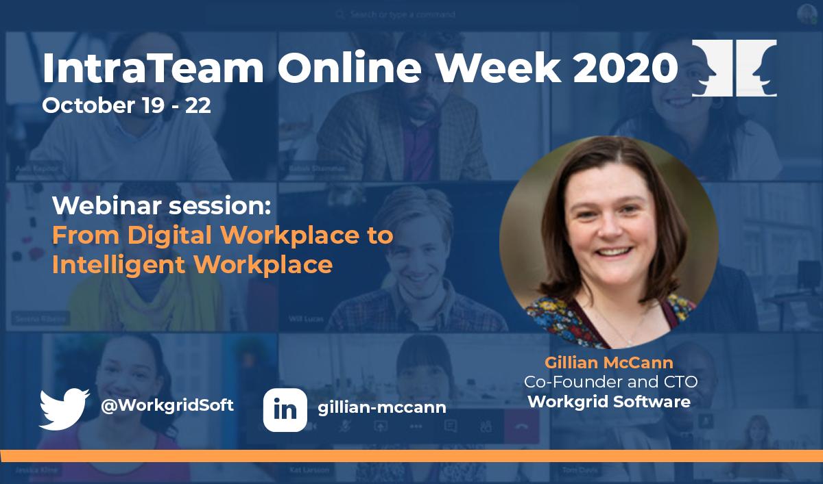 IntraTeam Online Week Gillian McCann