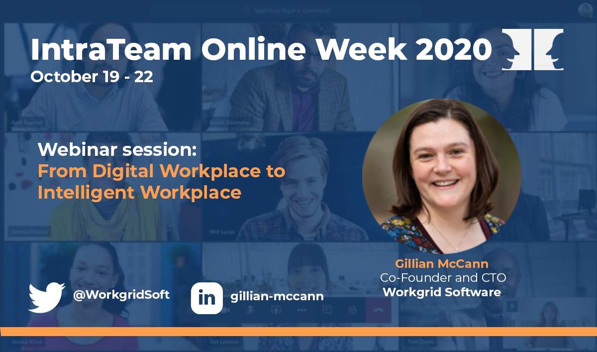 IntraTeam Online Week Gillian McCann