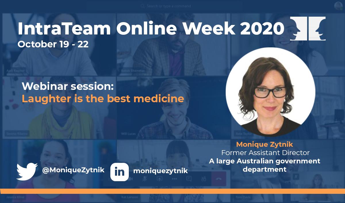 IntraTeam Online Week Monique